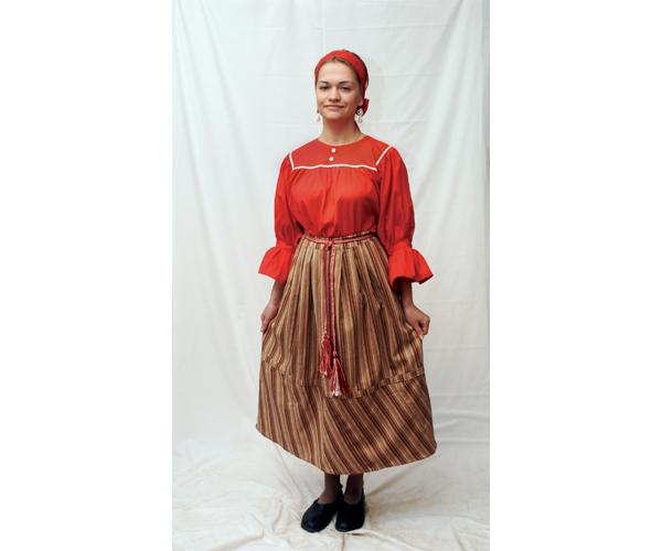 Народный костюм - на все времена - Коренные народы Карелии 6b646faf85730
